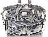 Coach XL Sequin Spotlight Tote ($598) High-impact sequin-embellished cotton-twill with metallic leather trim Coach letters charm with pave stones and side cinch details