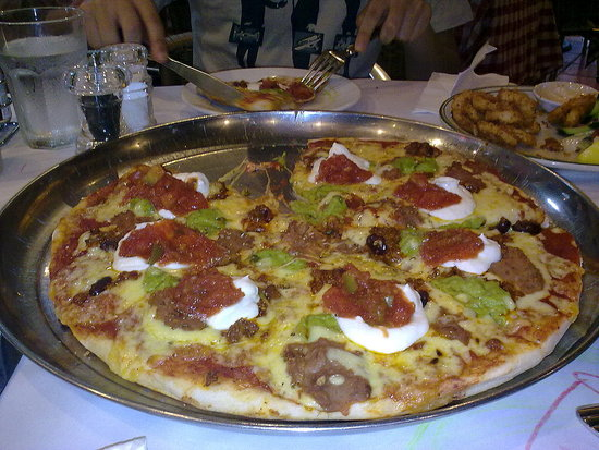 Acapulco pizza