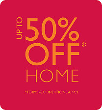 Up to 50% off at Laura Ashley this weekend! Home and Fashion.