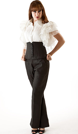 Mud-silk corset pants from Singapore