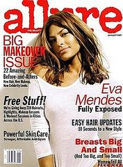 eva mendes does Allure magazine january 2009