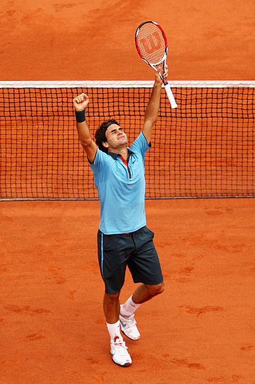 Roger Federer your French Open champion