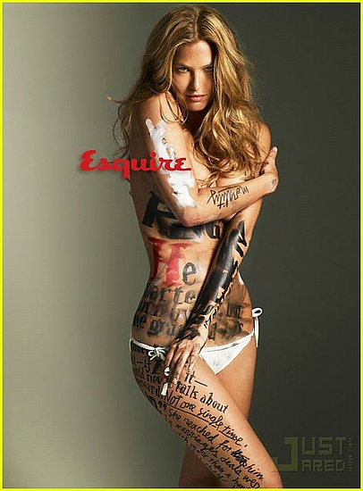 Bar Rafaeli covers Esquire mag july 2009