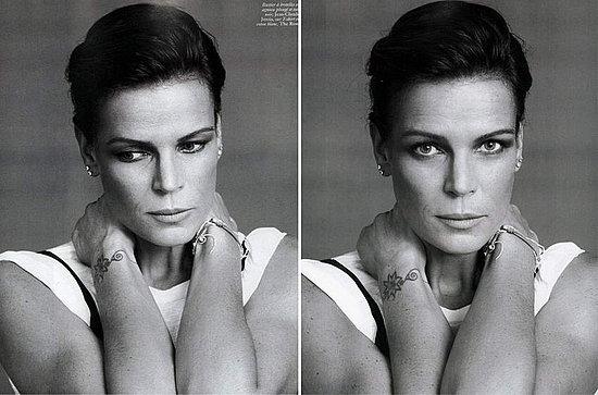 Stephanie de Monaco does Vogue Paris dec/jan 08-09