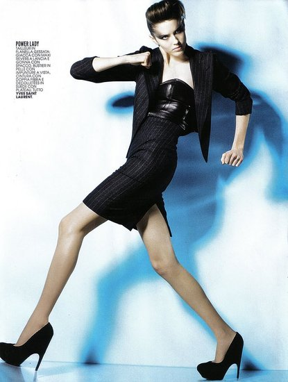 Taryn Davidson does Marie Claire Italy-sept 09