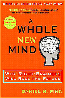 Say What? Daniel Pink on Left-Brain vs. Right-Brain Thinkers