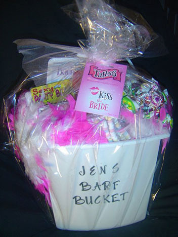 Bachelorette Party Barf Bucket