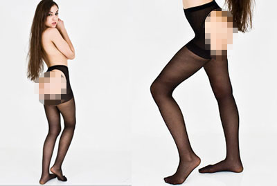 American Apparel Assless Stockings