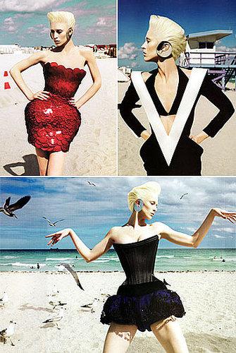 The Most Impractical Beachwear - Japanese Vogue