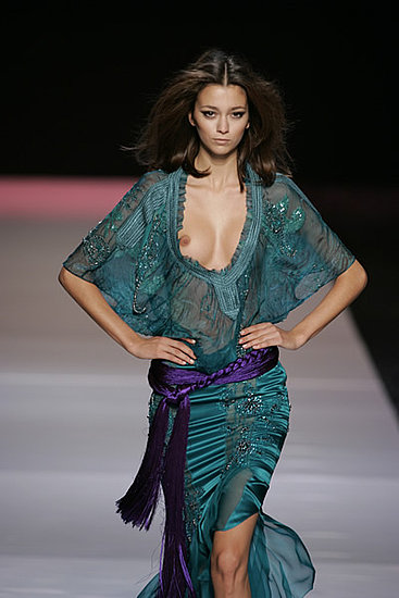 My Favorite Pics Of Morgane Dubled Fashion Shows