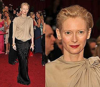 Oscars Red Carpet: Tilda Swinton