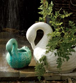 Love It or Hate It? Swan Planter