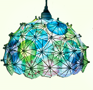 The Lush Happy Hour Light ($85) is made from cocktail umbrellas dipped in phosphorescent paint, so they glow in the dark!