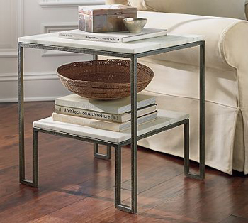 Nice and New: Pottery Barn Monroe Side Table