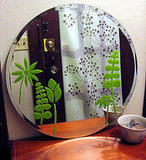 Design*Sponge shows you how to add fresh Spring stencils to a mirror.