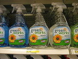 Of course, Target carries a number of green cleaning lines, including Greenworks.