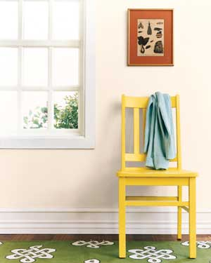 Give old furniture a smart Spring update with painting tips from Real Simple.