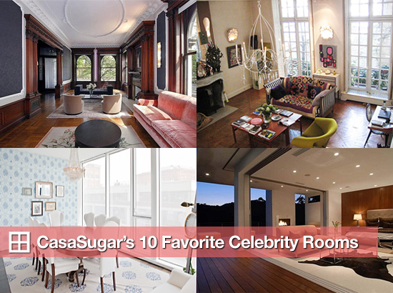 CasaSugar's 10 Favorite Celebrity Rooms