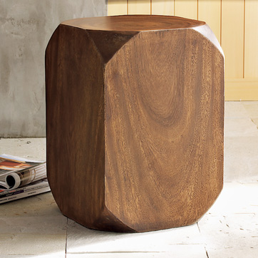 Steal of the Day:  Beveled Side Table