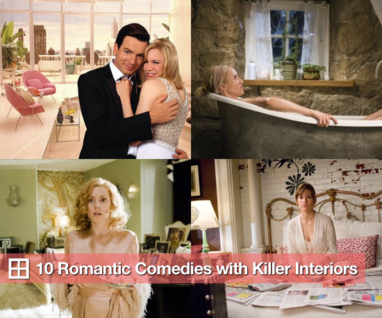 10 Romantic Comedies With Killer Interiors