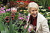Guess What Flower Dame Mirren Is Admiring?