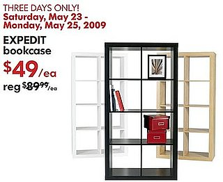Sale Alert: Ikea Expedit Bookcase