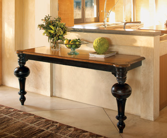 I love my bocce ball games, and now I can showcase my interest with the Bocce Ball Console Table ($649.99).