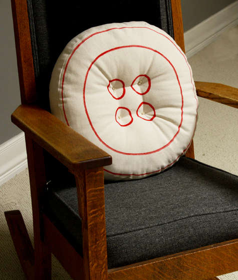 Instructables stitches up this ginormous button pillow.