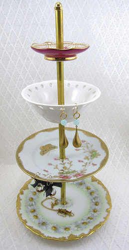 Etsy Find: Four-Tier Antique Jewelry Stand