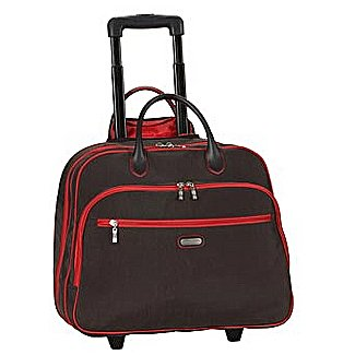 Baggallini Luggage - Nylon Bags Rolling Tote Bag RTC269 - Luggage Online