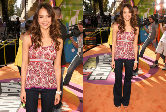 Kids' Choice Awards: Jessica Alba