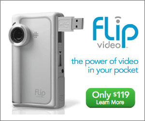 Pure Digital's Flip Video Camera Available Now