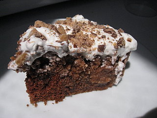 Sugar Shout Out: Yummy Heath Bar Cake!