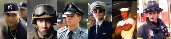 Dear Poll: Who Is your Favorite Man in Uniform?