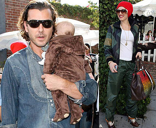Gwen, Gavin and Baby Bear Kingston