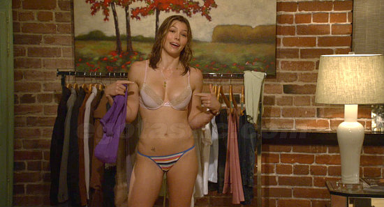 Jessica Biel's breast fear
