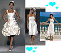 Wedding Gown Trend Alert: Short &amp; Sweet