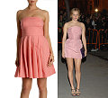 The Look for Less: Chloe Sevigny in Dusty Pink Prada