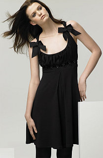 Fabworthy: Blumarine Sleeveless Dress with Twisted Straps
