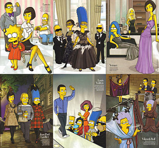 A Stroke of Genius: The Simpsons in Bazaar