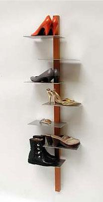 shoe shelf design