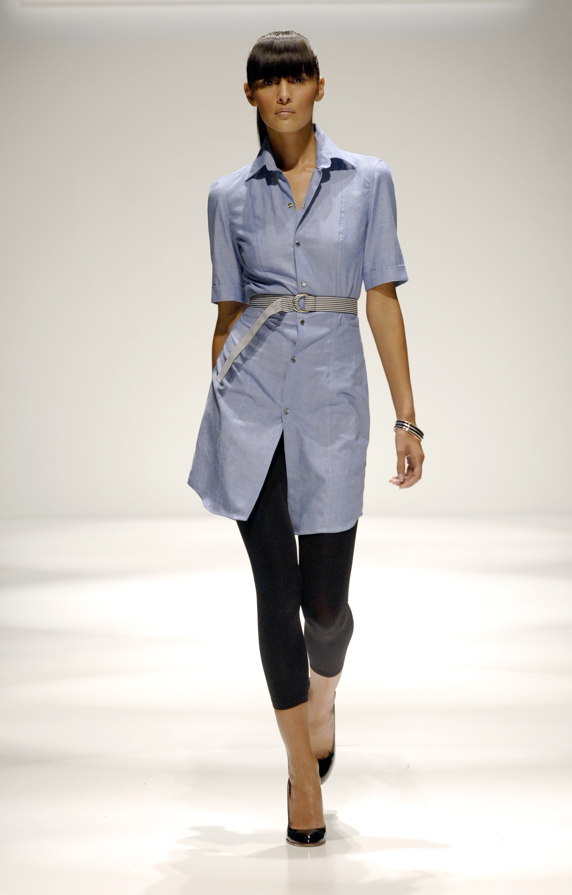 Dcepcion blue shirtdress