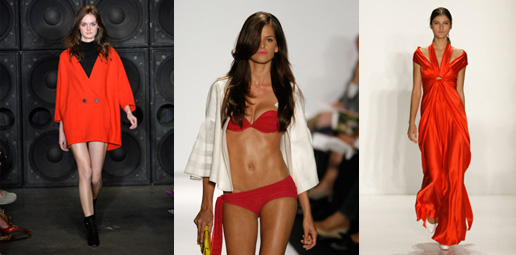 New York Fashion Week Trend Alert: Red