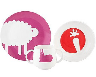 Simply Fab: Kate Spade Pippin Park Three Piece Feeding Set