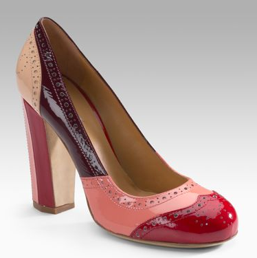 The Look For Less: Miu Miu Vernice Pop Pump