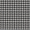 Simply Fab: Houndstooth Gift Wrap 
