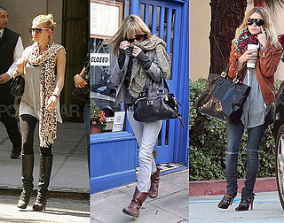 Who Wore It Better? Leopard-Print Scarf