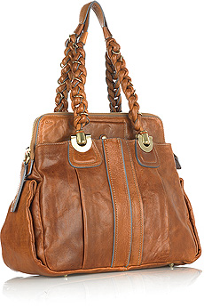 Guess Who Designed This Hippie-Chic Tan Bag?
