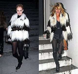 Who Wore It Better? Fendi Fur Coat