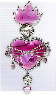 Mark Walsh and Leslie Chin Flaming Heart Brooch: Love It or Hate It?